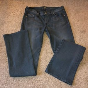 7 For All Mankind Jeans Bootcut Sz 28